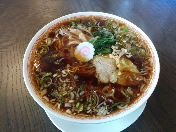 「らーめん 650円」@こだま食堂の写真
