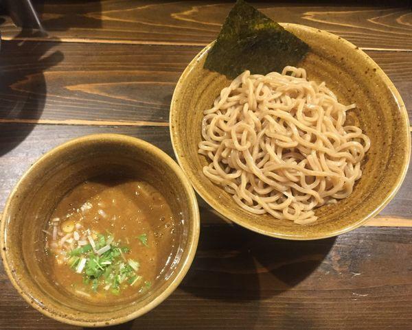 「ベジポタ海老つけ麺850円」@つけ麺 花みずきの写真
