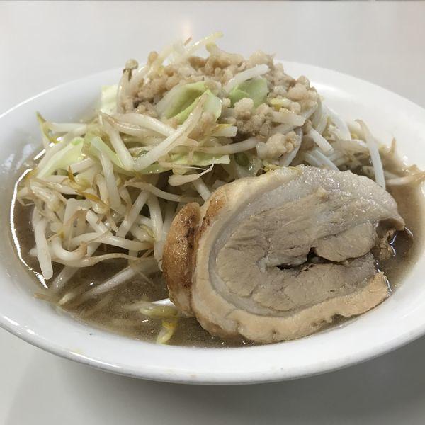 「二郎系野菜ラーメン(小)(¥700)」@ラーメン利の写真