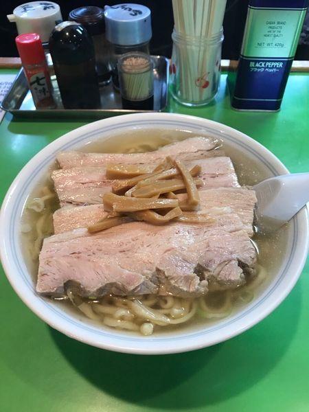 「塩とんとん麺」@とんとんの写真
