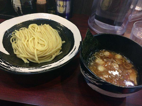 「つけ麺並冷や盛り(オープン記念価格500円)」@つけ麺 壱翔の写真