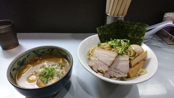 「特製煮干しつけそば ¥980」@コマツ中華蕎麦店の写真