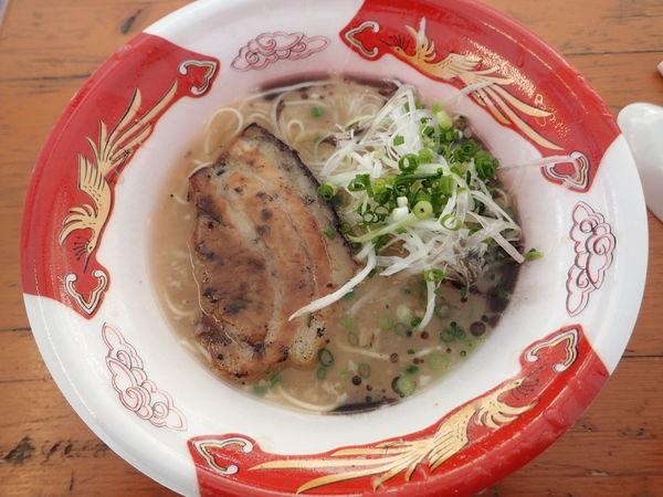 「ふくや (大分)「厚切り炭火焼きチャーシュー豚骨」」@大つけ麺博 大感謝祭の写真