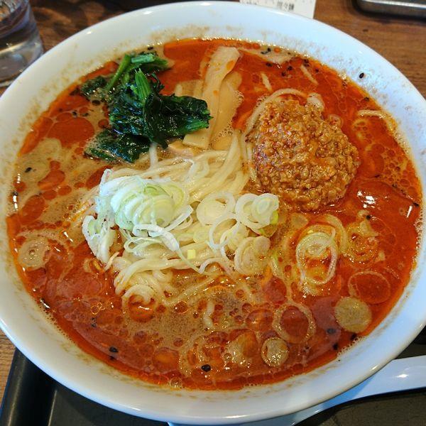 「担々麺 中盛690」@舎鈴 野田船形店の写真