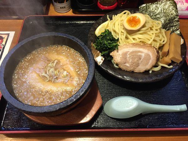 「濃厚豚骨伊勢海老つけ麺(大盛)」@竹本商店★つけ麺開拓舎の写真