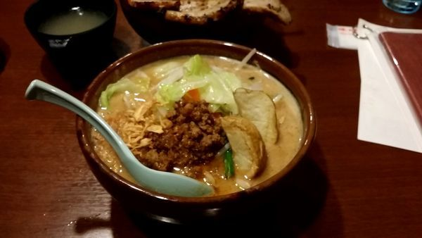 「北海道 野菜 大盛り」@麺場田所商店 春日部店の写真