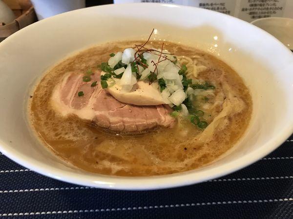 「鷄白湯ラーメン」@中華蕎麦 はざまの写真