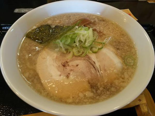 「こってり中華らーめん (麺大盛り)」@本節鰹だしらぁめん めん組 松本店の写真