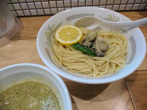 「【限定】濃縮牡蠣つけ麺 850円」@らーめん カッパハウスの写真