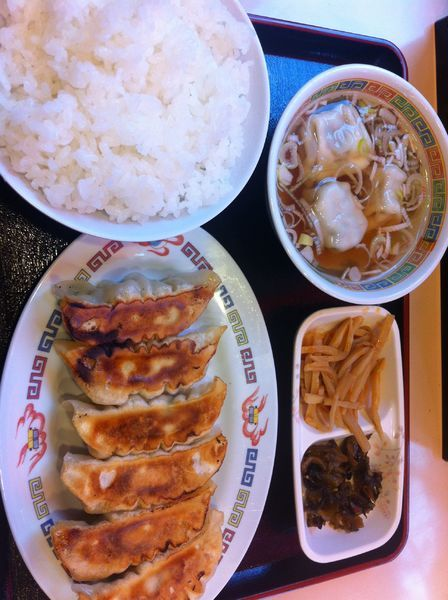 「朝食餃子セット」@宇都宮餃子館 駅前中央店の写真
