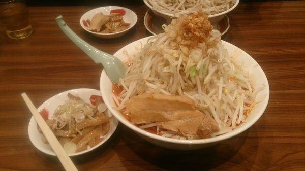 「味噌ふじ麺750円+大関200円」@東池袋大勝軒 うさぎ家の写真