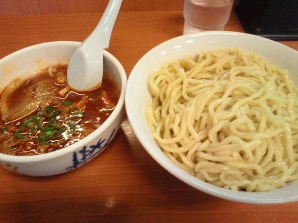 「辛味噌つけ麺(中盛)800円」@麺豪 剣信の写真