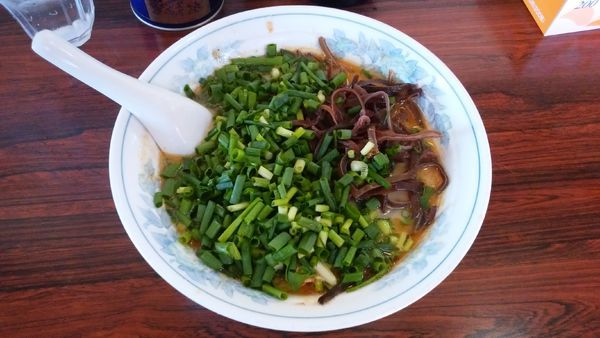 「とんこつラーメン(並盛)麺固め」@熊本ラーメン みち丸の写真