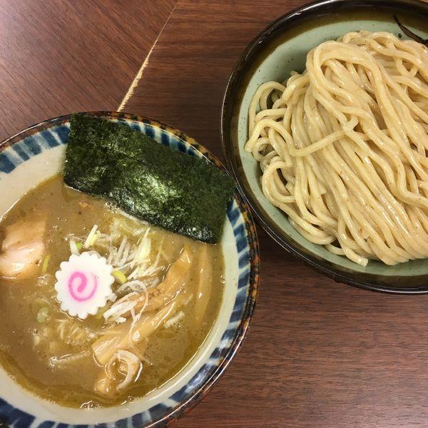 「煮番搾り 中 (850円) メンマ (100円)」@つけめん 三三㐂の写真