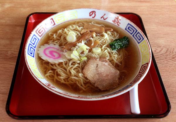 「ラーメン(550円)」@のん㐂の写真