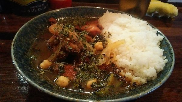 「インド風カレー チキン 5辛 950円」@カレーノトリコの写真