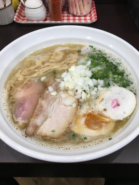 「しお」@麺や hideの写真