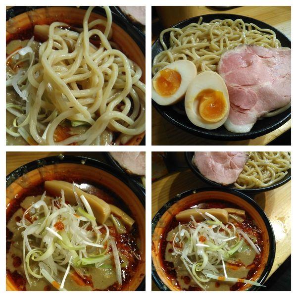 「辛味噌つけ麺大盛り(950円)+特盛り(50円)」@miso style となみの写真