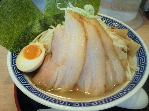 「特製叉焼麺(醤油)870円」@伏竜 福島中央店の写真
