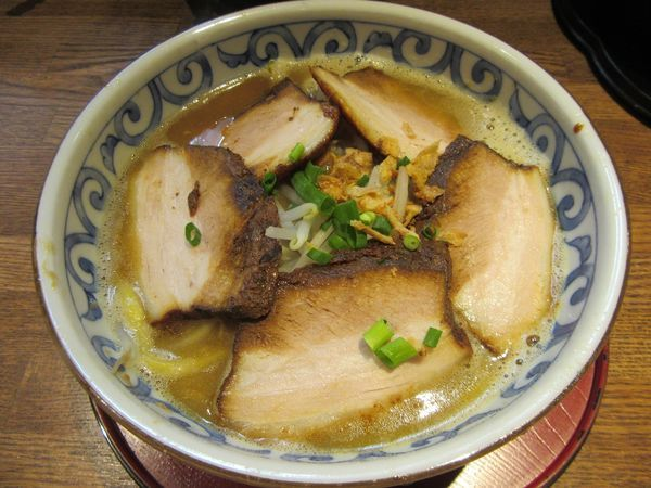 「バリバリラーメン(700円)+チャーシュー」@らー麺屋 バリバリジョニーの写真
