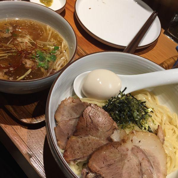 「全部入り和塩つけ麺」@麺や ひだまりの写真