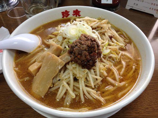 「味噌ラーメン」@珍來 浦安店の写真