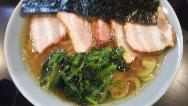 「バラチャーシュー麺」@横浜ラーメン 一心の写真