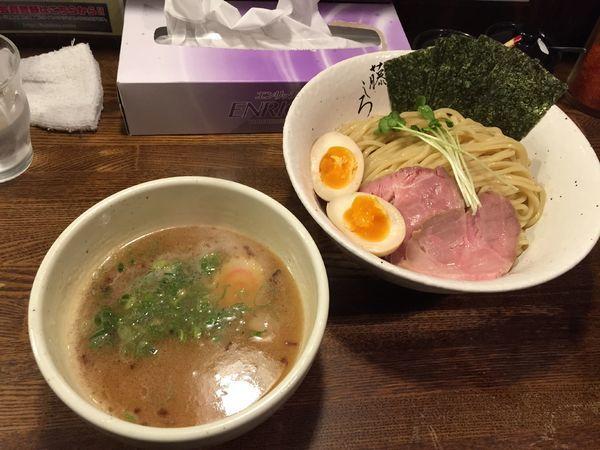 「濃厚鶏白湯 特製つけ麺」@麺屋 藤しろ 目黒店の写真