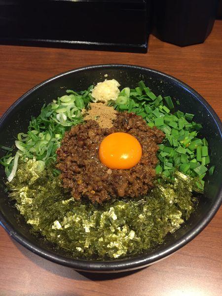 「台湾まぜそば  ¥810円」@麺屋 つばき 寺田町店の写真
