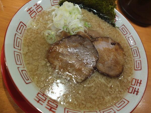 「背脂醤油ラーメン」@かみなり太郎の写真