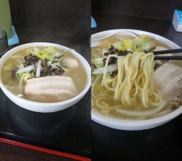 「『菜麺(¥800)』を並盛&太麺で」@喜奴屋の写真