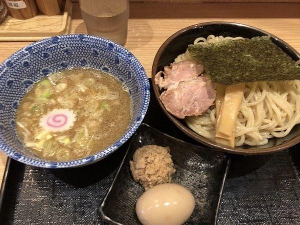 「特製つけ麺 中盛」@舎鈴 大島駅前店の写真