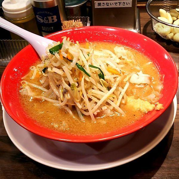 「味噌タンメン」@旭川味噌ラーメン せいべえ 上野本店の写真