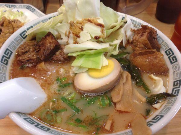 「太肉麺 + 排骨」@桂花ラーメン 渋谷センター街店の写真