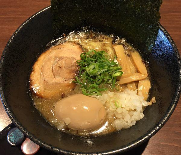 「焼煮干しラーメン(¥850)」@麺や いかりの写真