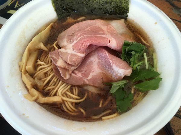 「比内地鶏のコク旨中華そば」@ラーメン優駿2017 秋の陣の写真