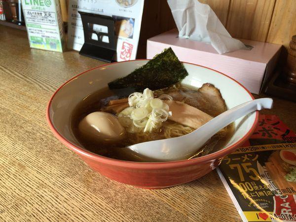 「チャーシュー麺」@餃子食堂 みのわ店の写真
