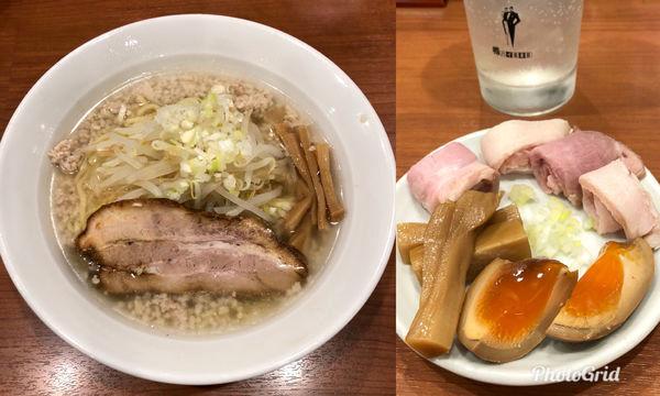 「塩ラーメン(背脂ver.)¥770円 & Others」@中華そば 七麺鳥の写真