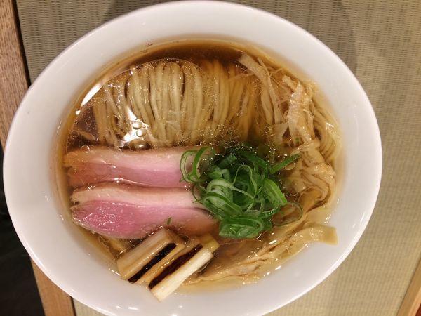 「鴨らぁ麺」@らーめん 鴨to葱の写真
