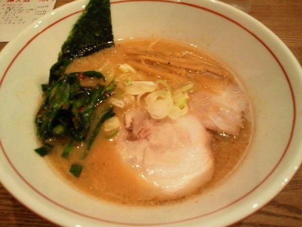 「ニラなんばん味噌ラーメン 830円」@SAITOU拉麺店の写真
