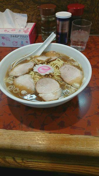 「チャーシュー麺」@赤坂味一の写真