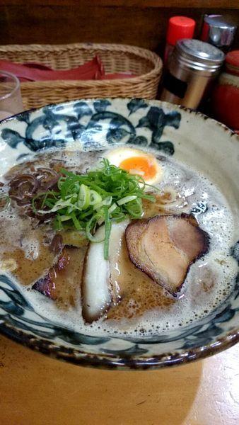 「鶏白湯魚介」@麺処 雄の写真