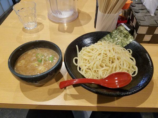 「つけ麺大盛り」@つけ麺 雀 天満橋店の写真