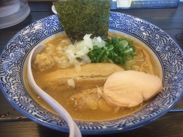 「トリプルラーメン」@濃厚鶏白湯ラーメン 一彩の写真