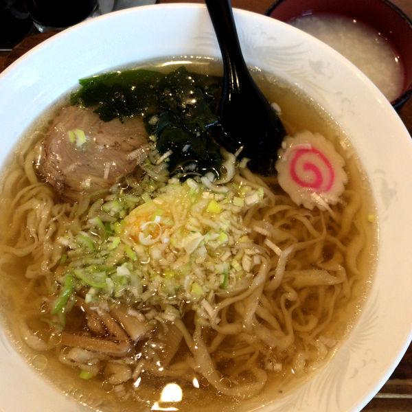 「ラーメン 615円 お粥 無料」@桂林の写真