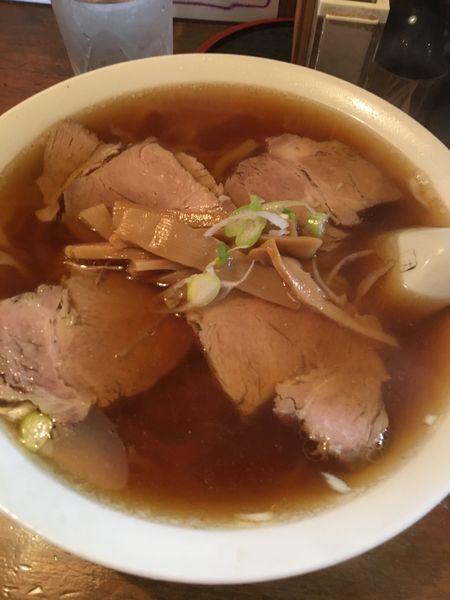 「チャーシュー麺」@かじかや手打らーめんの写真