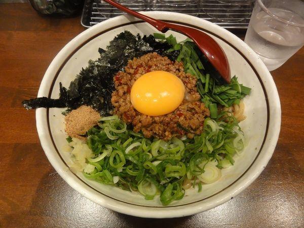 「台湾まぜそば(並・200g)」@麺屋 やまひで 堺筋本町店の写真