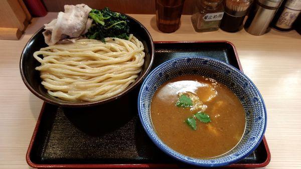 「濃厚つけ麺小結(350g)850円」@らー麺土俵 鶴嶺峰の写真