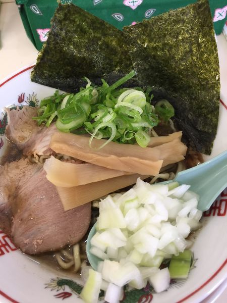 「極煮干しラーメン」@尾道ラーメン 丸ぼしの写真