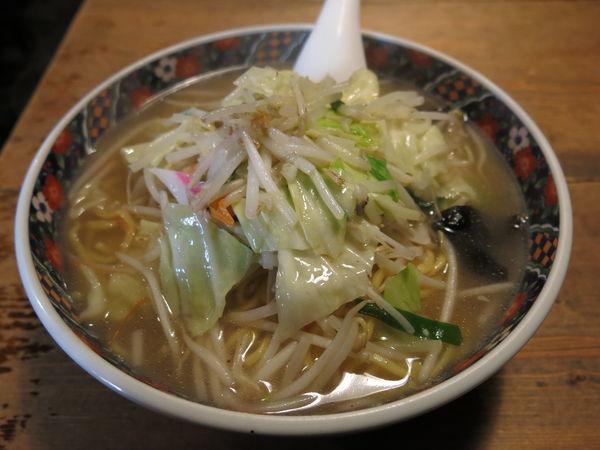 「タンメン(麺大盛り):850円」@函館らーめん 船見坂の写真